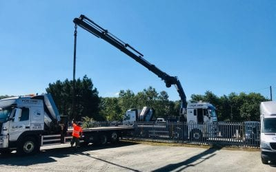 That time again for the LCS HiAb team – Lifting gear testing