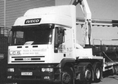 LCS transport old image of van