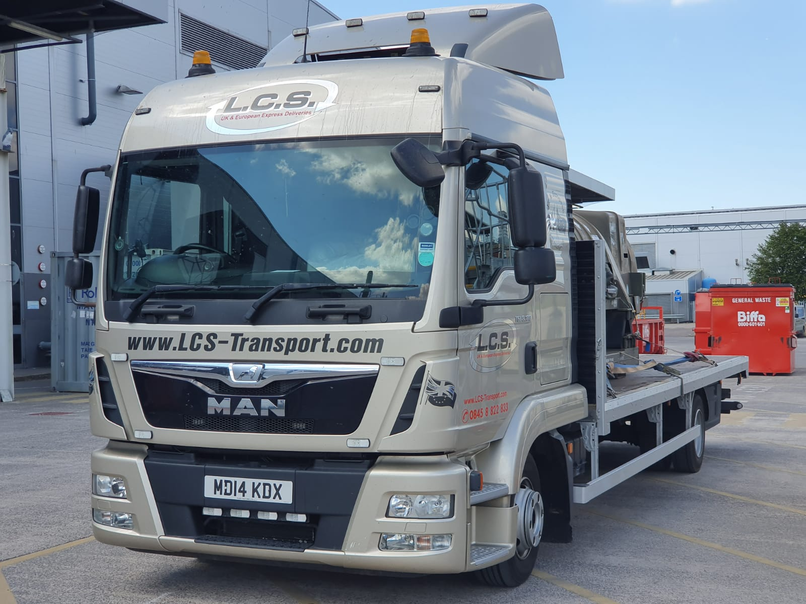LCS Transport Lorry
