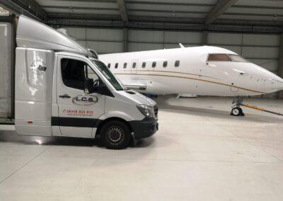 LCS Transport van with aeroplane