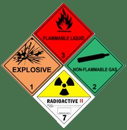 LCS Transport Hazardous Sign