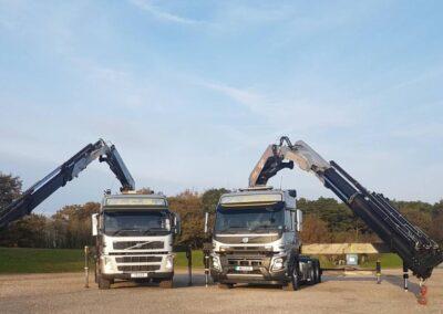 LCS Transport Crane Lorry