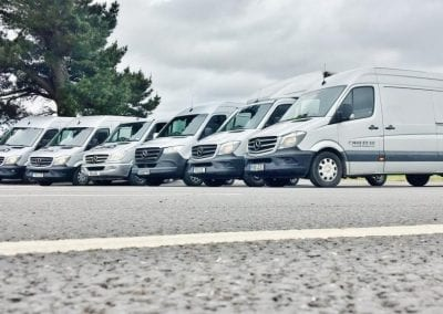 LCS Transport Vans