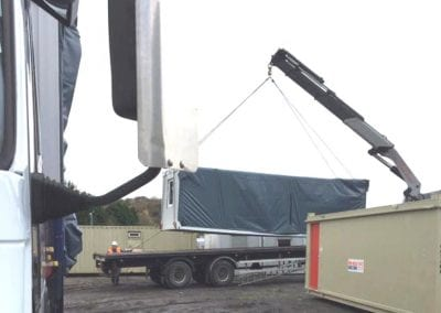 LCS Transport moving container