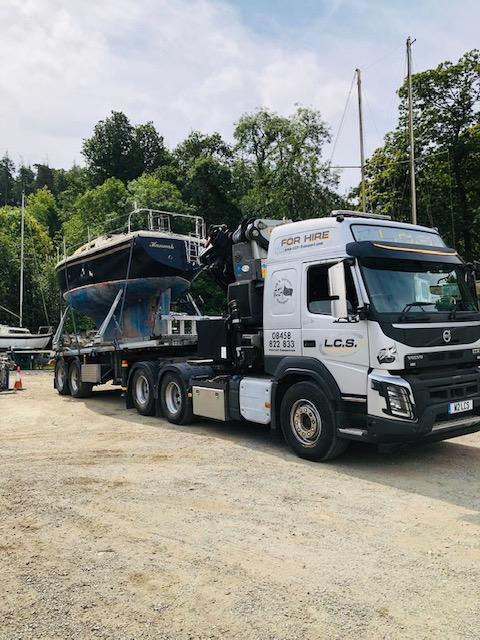 LCS Lorry with boat
