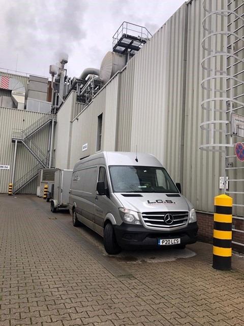 LCS Van in factory in Germany
