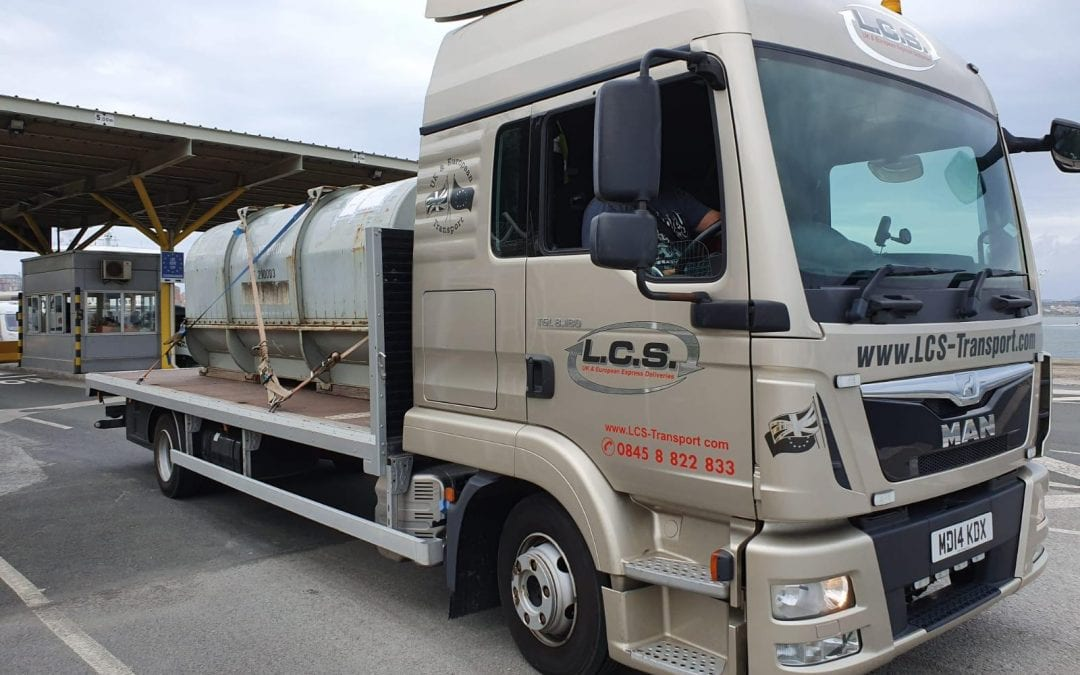 LCS lorry in Portugal