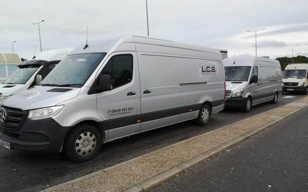 LCS Vans in car park
